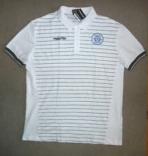 XXXL QUEEN of the SOUTH football SHIRT polo WHITE macron BNWT DUMFRIES GALLOWAY