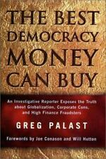 Palast-Best Democracy Money Can Buy  (UK IMPORT)  BOOK NEW