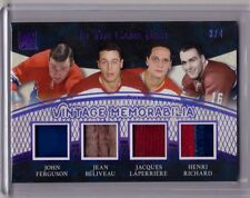 JOHN FERGUSON JEAN BELIVEAU LAPERRIERE HENRI RICHARD 16/17 Leaf Patch Glove #3/4