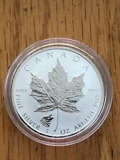2016 Wolf Privy Maple Leaf Reverse Proof 1 Oz .9999 Silver Coin with Air-tite