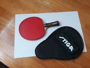 Vintage Harvard Paddle Table Tennis W/ Stiga Bag Ping Pong
