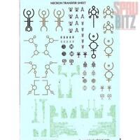 Necron Transfer Sheet #99 51 01 10 002 (2011) Games Workshop Warhammer 40,000