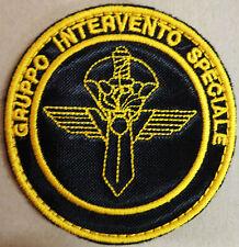 """Toppa/Patch Omerale """"G.I.S. - GRUPPO INTERVENTO SPECIALE"""" (Tipo Operativo)"""