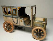 1920's Bing Germany Tin Litho Wind up Sedan Car Limousine Taxi - Tippco Marklin
