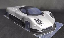 1/10 RC Car Clear Body Shell 200mm Pagani Zonda TAMIYA YOKOMO HPI Drift Hypercar