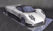 1/10 RC coche 190mm Transparente Body Shell Pagani Zonda TAMIYA YOKOMO HPI deriva Hypercar
