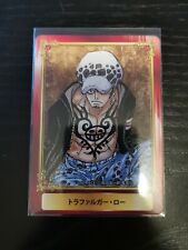 Card Weekly Shonen Jump Fair in animated 2016 One Piece - Trafalgar Law
