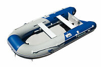 11 ' INFLATABLE BOAT DINGHY SPORT RAFT with AIR DECK FLOOR WATERLINE 11 ft