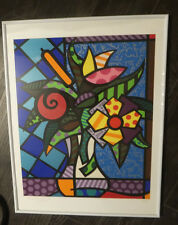 "Rarität Romero Britto ""It´s for you"" 2005 Silkscreen Siebdruck SERIGRAPH Nr 154"