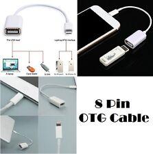8 pines Macho a Hembra Cable Adaptador Otg De Usb Para Ipad Air de Apple iPhone 5/S/C/6G