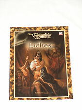 The Complete Guide To Liches *Dungeons & Dragons* Goodman Games* d20 *3.0 *NEW*