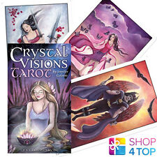 CRYSTAL VISIONS TAROT JENNIFER GALASSO DECK CARDS ORACLE ESOTERIC TELLING NEW