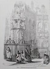 Zoutleeuw - Tabernakel van de Sint-Leonarduskerk