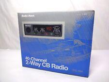 Radio Shack 40 Channel Vehicle Cb Radio with Condenser Mic Model Trc 464 21-1554