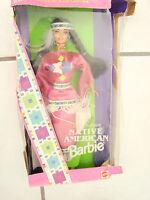 1994 Native American Barbie Dolls of the World 3rd Ed. , damaged box