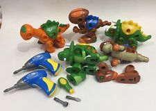 Create and Play Dinosaurs Take Apart and Build Dinosaurs with Drills/Screwdriver