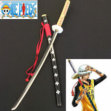 One Piece Surgeon of Death Trafalgar D. Water Law Sword with Single Sword Stand