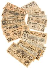 UNION AND CONFEDERATE REPLICA CURRENCY - ANTIQUED LOOK