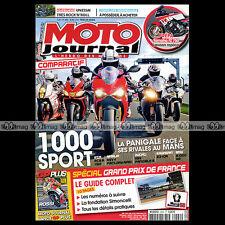 MOTO JOURNAL N°2002 KTM 1190 RC8R DUCATI 1199 S PANIGALE GRAND PRIX LE MANS 2012
