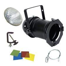 PAR 64 500w PAR CAN PACKAGE INC LAMP, HOOK, CLAMP & GEL STAGE SCHOOL THEATRE