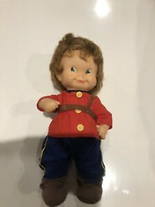 Vintage Regal Doll Made In Canada 10 Inches Original Clothes