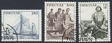 FAROE ISLANDS  : 1984 Fishing Industry set SG100-2 fine used