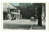 East Chestnut Street Old Cars MIFFLINBURG PA Union County Pennsylvania Postcard