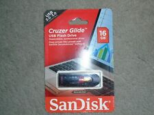 Sandisk Cruzer Glide 16 GB USB 2.0/3.0 Flash Drive - NEW.