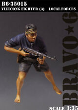 Bravo6 1:35 Viet Cong Fighter #3 Local Forces Vietnam War Resin Figure #B6-35015