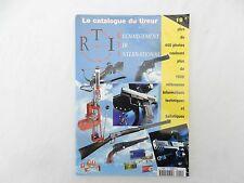 catalogue du tireur rechargement tir international - RTI - N°L1201