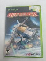 Defender Original Microsoft Xbox Game  Free Fast Shipping