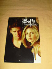 CP CARTE POSTALE Buffy the vampire slayer Sarah Michelle Gellar David Boreanaz