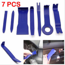 7PCS/Set Car Door Trim Removal Tool Pry Panel Dash Radio Body Clip Installer Kit