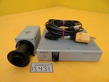 Sony DXC-930 3CCD Camera with CMA-D2CE Adaptor AMAT Orbot WF 720 Used Working