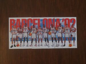 1992 Skybox Dream Team Olympic Barcelona Team USA 3 card set Michael Jordan