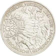 Monnaies, GERMANY - FEDERAL REPUBLIC, 10 Mark, 1987, Karlsruhe, Germany #77312