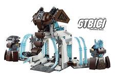 LEGO CHIMA `` MAMMOUTH COMPLETO FROZEN FORTERESSE DE»Réf 70226 MINIFIGURINES