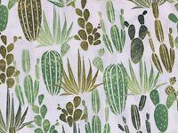 RPFHM50C Succulent Cactus Cacti Desert Garden Desert Dawn Cotton Quilt Fabric