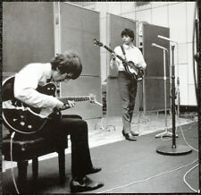 THE BEATLES POSTER PAGE 1964 RECORDING TOP GEAR . GEORGE HARRISON MCCARTNEY .J27