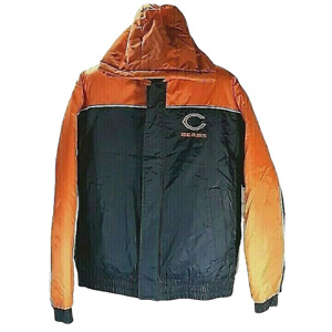 Chicago Bears NFL VF Imagewear Inc Winter Zip Up Jacket Vintage Size M Hoodie