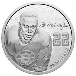 Black History Month: Willie O'Ree - 2020 Canada $20 Fine Silver Coin