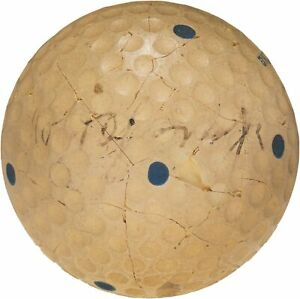 Incredible Bobby Jones Single Signed 1930 Spalding Golf Ball PSA DNA & JSA COA