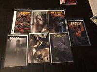 Spawn Comic Book Collection NM Image The Undead The Dark Ages 7 Books Hell Spawn