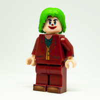 Custom LEGO Minifigure The Joker by Joaquin Phoenix