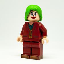 Custom LEGO Minifigure The Joker by Joaquin Phoenix