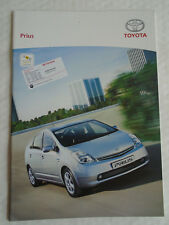 Toyota Prius range brochure Mar 2006 Swiss market French text