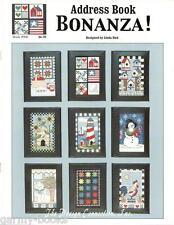 Address Book Bonanza Linda Bird Design Connection #066 Cross Stitch Pattern NEW