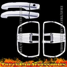 For CHEVY Silverado+HD 2014 2015 2016 Chrome Covers 2 Doors w/o KH+Tail Lights