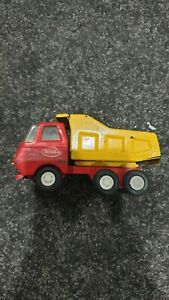 Vintage Tonka Red Mini Dump Truck 12cms