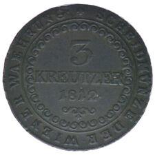 Österreich Habsburg Franz I. 3 Kreuzer 1812 G A46848